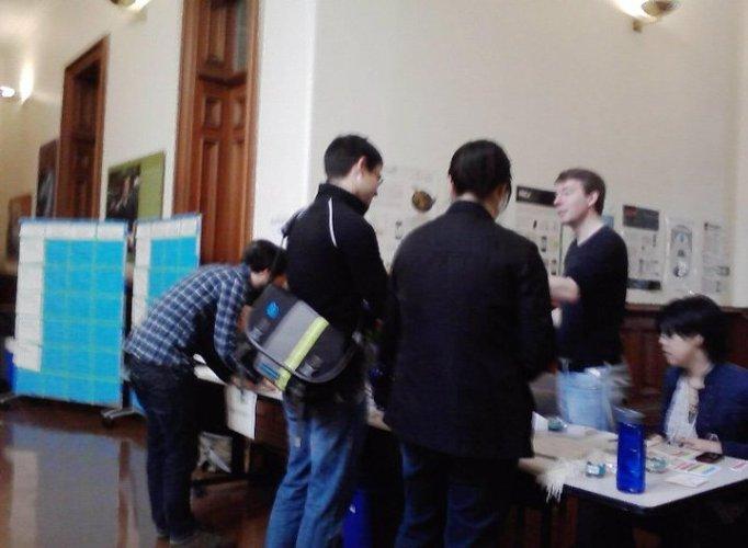 Infocamp Berkeley 2011 Registration Table