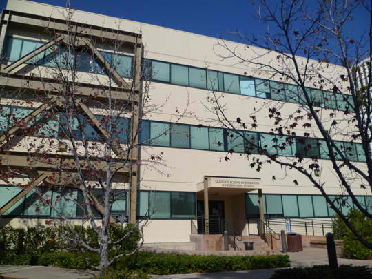 The Graduate School of Education and Information Studies.  Photo Credit: Graduate School of Education and Information Studies Website.