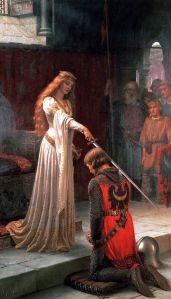 """The Accolade"" by Edmund Blair Leighton"