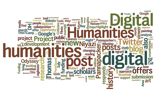 Digital Humanities wordle