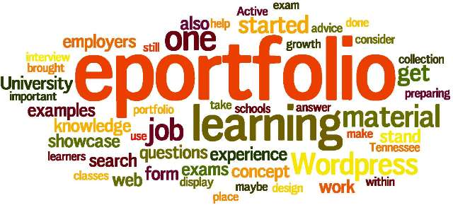 eportfolio wordle