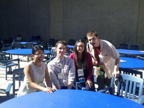 Teresa, Kevin, Annie, and Topher in Anaheim at ALA12!