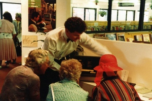 """Computerised Catalogue, mid 1980s"" by Mosman Library via flickr under CC"