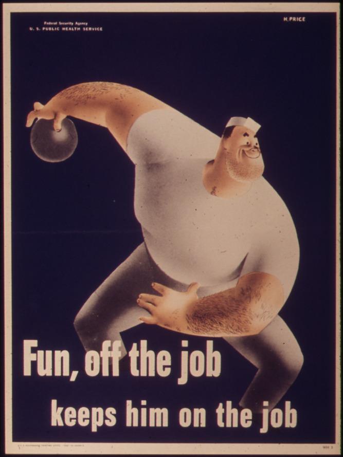 Fun, off the job keeps him on the job