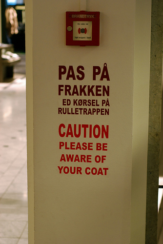 When is the original appropriate and when do we need a translation? (CC licensed image from Flickr user gcbb)