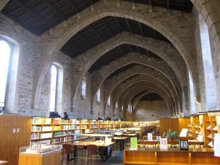 BOBCATSSS 2014 featured a number of library tour destinations, including the National Library of Catalonia, pictured here.