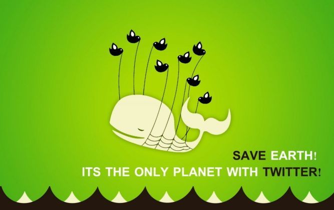 Save the Earth: It's the Only Planet With Twitter!