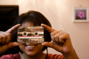 in memory of the cassette culture and mixtapes by DraconianRain on Flickr