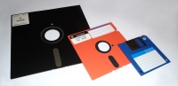 Floppy disks by George Chernilevsky on Wikimedia Commons