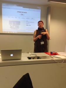Let's talk about zines, baby (presenting at the iConference in Berlin)