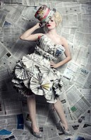 NewspaperDress