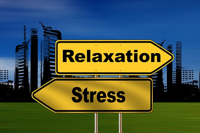 relaxation-stress sign