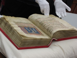 A Codex (Actually the Codex Sancti Paschalis) Source: Christopher John SSF (CC BY 2.0)