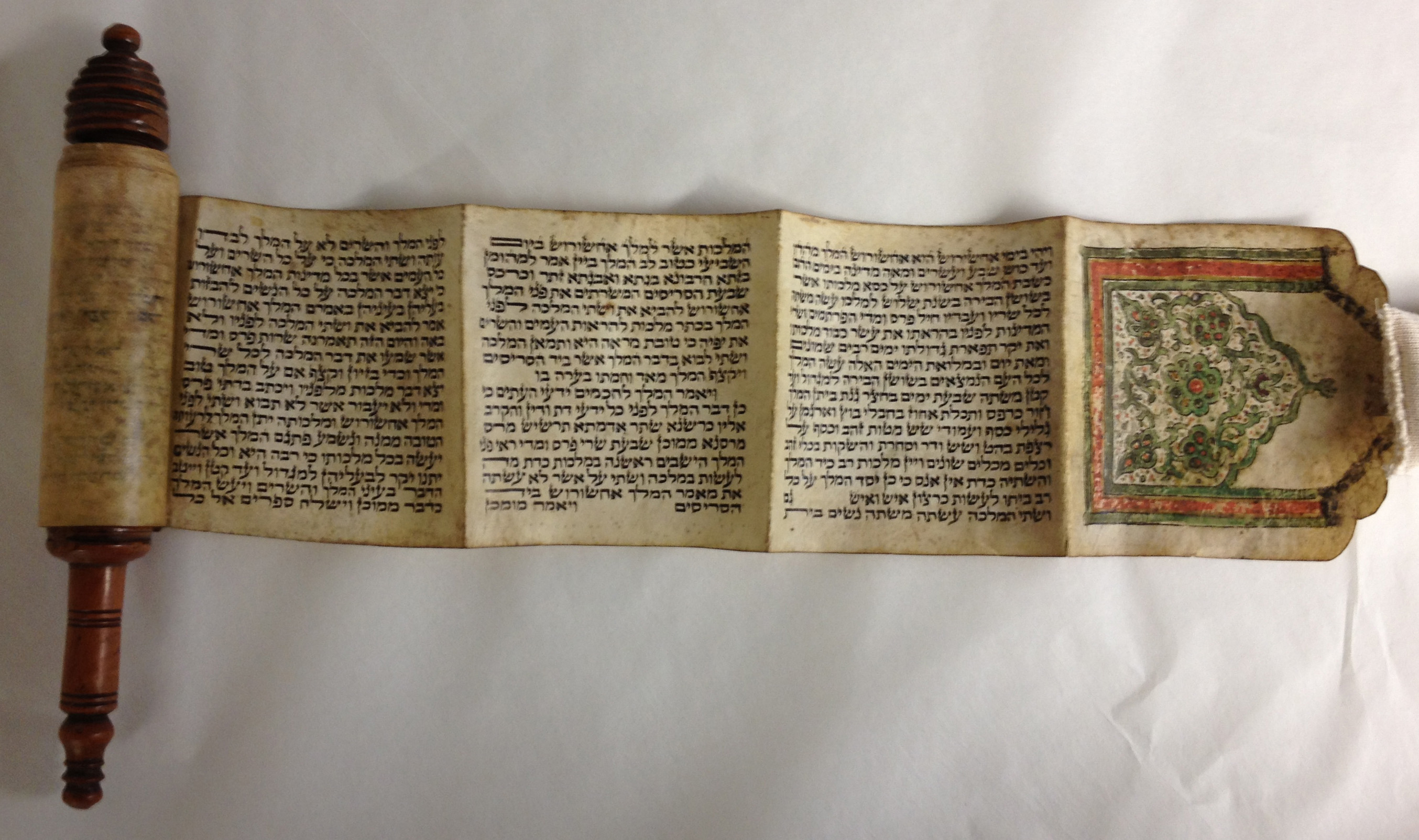 Scroll of Esther Megilat Ester