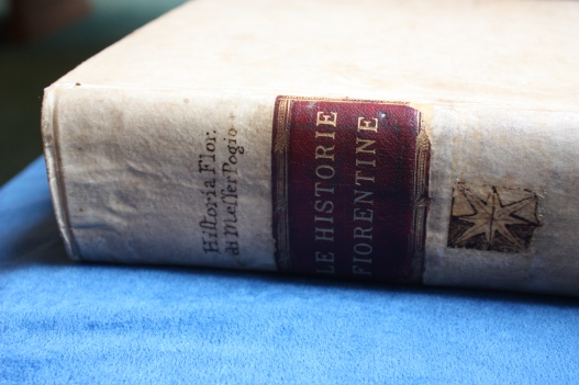 The Spine of  A Rare Book- (Source: Burns Library, Boston College CC BY-NC-ND 2.0)