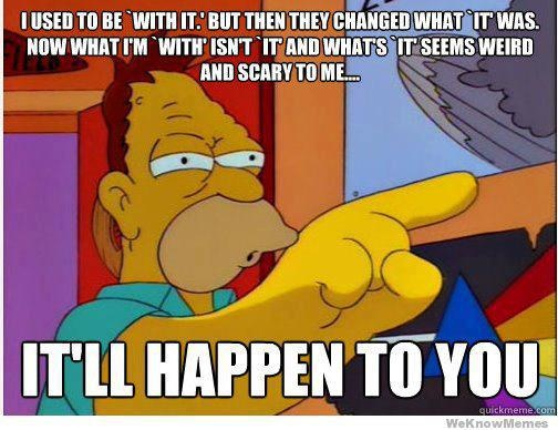 Advice from Grandpa Simpson, The Simpsons Seaon 7, Episode 24