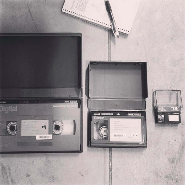 Our event will have experts on hand to tell people what to do with tapes, and film, and more!