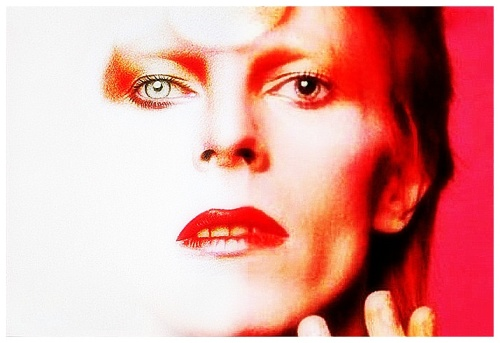 "Bowie knows best: ""Turn and face the strange ch-ch-changes."" Lyrics from ""Changes,"" David Bowie, 1972"