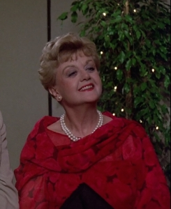 Happy and smug Jessica Fletcher