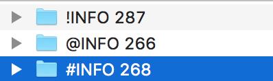course file naming